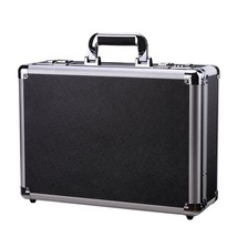 Aluminum Case Flight Case Tool Box Metal Hard Carrying Case with Dual Locks - $74.38