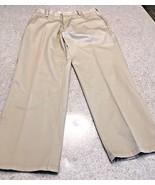 Men's Kirkland Signature Chino Pants Standard Fit Straight Leg 36 X30 - $13.10