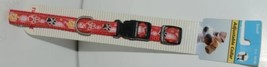 Ruffin It 39441 Adjustable Dog Collar Red Small Size 10 16 Nylon Package 1 image 1