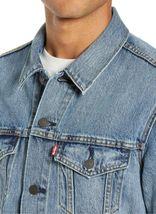 Levi's Men's Cotton Button Up Denim Jeans Trucker Jacket Light Blue 723340232 image 3