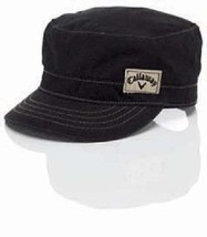 New Ladies Callaway Military Golf Cap. Black - $14.08