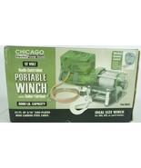 Chicago Power Tools Radio Controlled 12V Portable Winch upto 3000lbs Cam... - $93.47