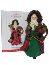 Hallmark 2015 Father Christmas *NIB* KOC Event Repaint Santa Ornament - $56.95