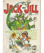 Jack and Jill Magazine August September 1975 Tennis Billie Jean King - $8.90
