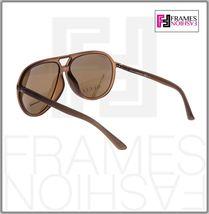GUCCI GG1094S Aviator Brown Translucent POLARIZED Sunglasses Unisex 1094 1090  image 3