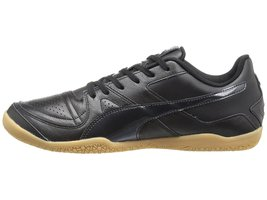 Puma Invicto Made in Japan Kangaroo Leather Indoor Soccer Shoes Black, size 9 - $127.50