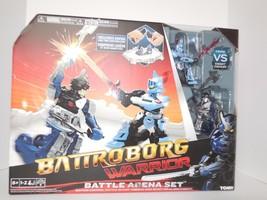 New Tomy Battroborg Warrior Battle Arena Game Viking vs Knight Chevalier - $23.76