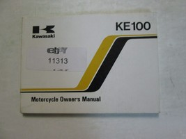 1997 Kawasaki KE100 Moto Owner's Operatori Owner Manuale Kawasaki 97 KE100 - $54.04