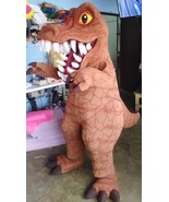T-Rex Dinosaur Mascot Costume Adult Tyrannosaurus Costume For Sale - $399.00