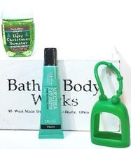Bath & Body Works Mentha Lip Gloss, Ugly Christmas Sweater Pocketbac, Gr... - $19.31