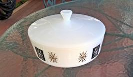 VTG Federal Milk Glass 10 Qt Casserole Dish w/l... - $25.00