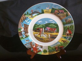 Kitschy Eclectic Colorado North Pole Santa's Workshop Souvenir Dinner Pl... - $22.76