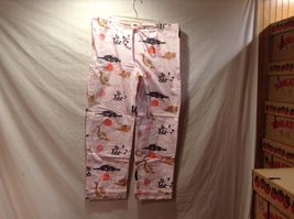 NEW The Cats Pajamas Thick Pant w Long Sleeve Top Cat Themed Set Sz S image 6