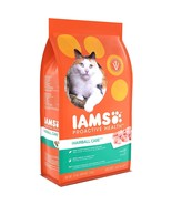 Iams Proactive Health Adult Hairball Care Dry Cat Food with Chicken and ... - $21.79