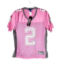 Reebok NFL LA Raiders Jersey Women's Pink Gray 2 Russell Football Size S... - $34.64