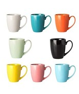Ceramic Mugs Set - 14 Ounce Cups with Large handle for Coffee, Tea, Coco... - $33.49