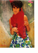 Alyssa Milano teen magazine pinup clipping red scarf 90's