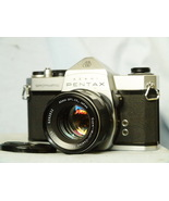 Pentax Spotmatic m42 35mm SLR Camera c/w SMC Takumar 1.8 50mm Lens - Nic... - $45.00