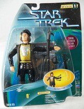 Star Trek Warp Factor 1 Spring Activated Q Action Figure Fencing NRFP 1997 - $8.79