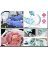 Silicone Cleaning Hand Gloves for Kitchen Dishwashing and Pet Grooming, ... - $37.80