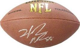 Hakeem Nicks signed NFL Wilson Rep Football - $44.95