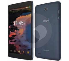 Alcatel A30 16GB | 8in Tablet | Wi-Fi + 4G LTE (GSM UNLOCKED) | Gray