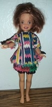 "Mattel Barbie Sister Stacie Bowling Doll right hand magnet 7"" - $11.88"