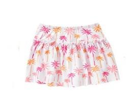 Gymboree Hop N Roll White Pink Palm Trees Skort Size 4 NWT - $5.45