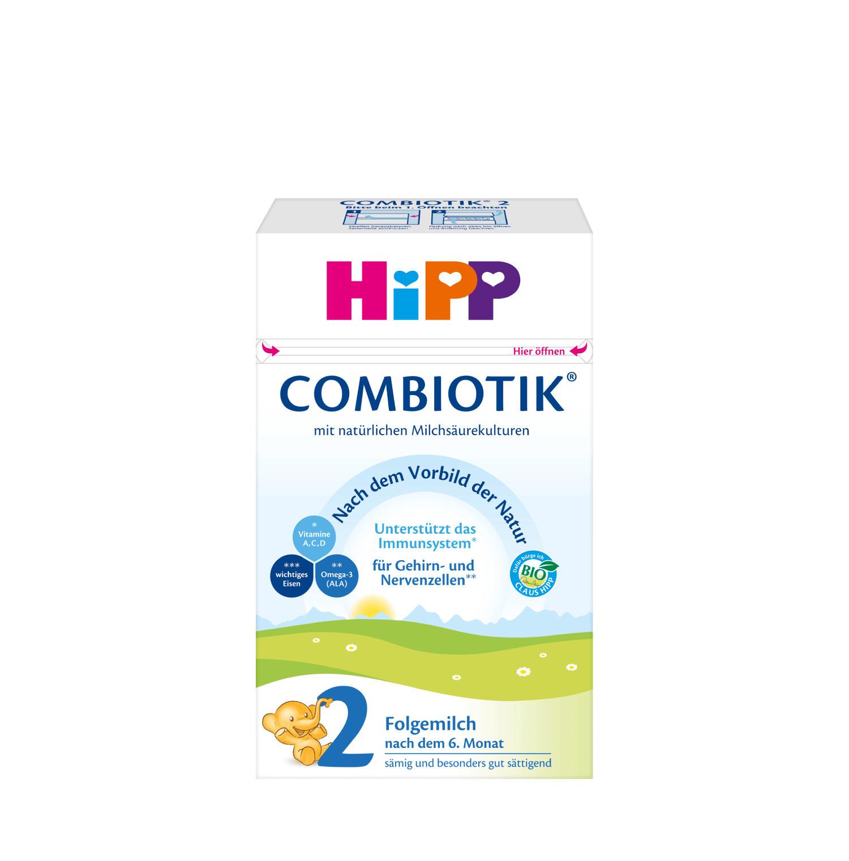 HiPP Organic Bio Combiotik 2 Baby Formula-THE GERMAN ORIGINAL-Ships FAST & FREE - $27.99