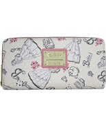 Disney Beauty and the Beast Belle Pink Allover Print Zip Around Wallet (... - $145.99