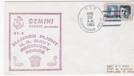 GEMINI GT-5 US NAVY RECOVERY FORCE U.S.S. GOLDSBOROUGH (DDG-20) 8/29/196... - $2.98