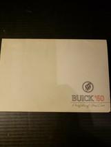 1960 Buick New Car Brochure Portfolio Of Fine Cars - $34.05