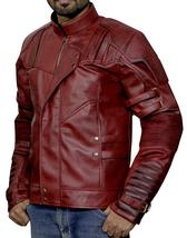 Guardians Biker Star Lord Chris Costume Leather Galaxy Vol 2 Jacket image 3