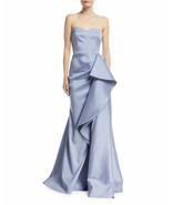 BADGLEY MISCHKA Collection Strapless Mikado Bustier Gown (Size 6) - $249.95