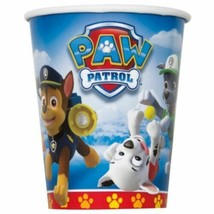 Paw Patrol 8 9 oz Hot Cold Paper Cups Nickelodeon Pups Dogs - $2.96