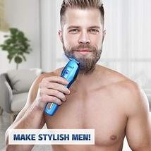 Ceenwes Cool 5 In 1Mens Grooming Kit Professional Beard Trimmer Rechargeable Ha image 6