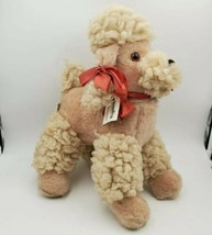 Vintage Atlanta Novelty Plush Dog Stuffed Poodle Gerber Baby Doll - $39.59