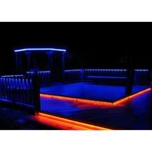 RGB LED Outdoor Backyard Patio Deck Yard Pool Bar Bbq Grill Cabana Lights Set - $49.95