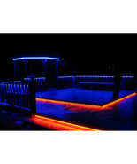 RGB LED Outdoor Backyard Patio Deck Yard Pool Bar Bbq Grill Cabana Light... - $49.95