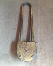 Vintage 40s Slaymaker long combination padlock image 3
