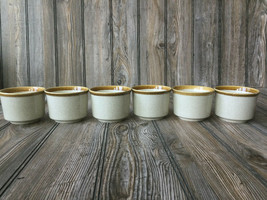 6 Vintage Mikasa Stone Manor Coffee Cups Mugs Replacements Discontinued ... - $27.59