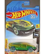 2018 Hot Wheels #227 X-Racers 1/10 EL VIENTO Green Trans Blue Whls w/Gre... - $6.25