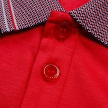 Hugo Boss Men's Short Sleeve Regular Fit Paddy 1 Bright Red Polo Shirt SS20 image 5