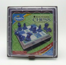 Thinkfun Solitaire 60 Chess Game Puzzles Award Winning Complete - $19.99