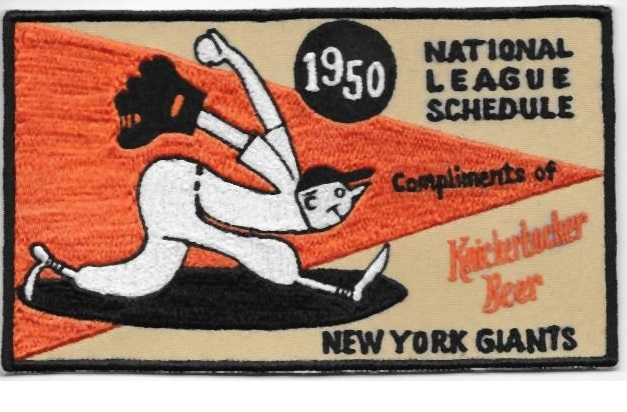 Beer Baseball Cincinnati Reds /& Stroh/'s Beer National League 1977 Promo Patch