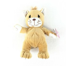 Precious Moments Tender Tails Brown Cat Plush - $12.86