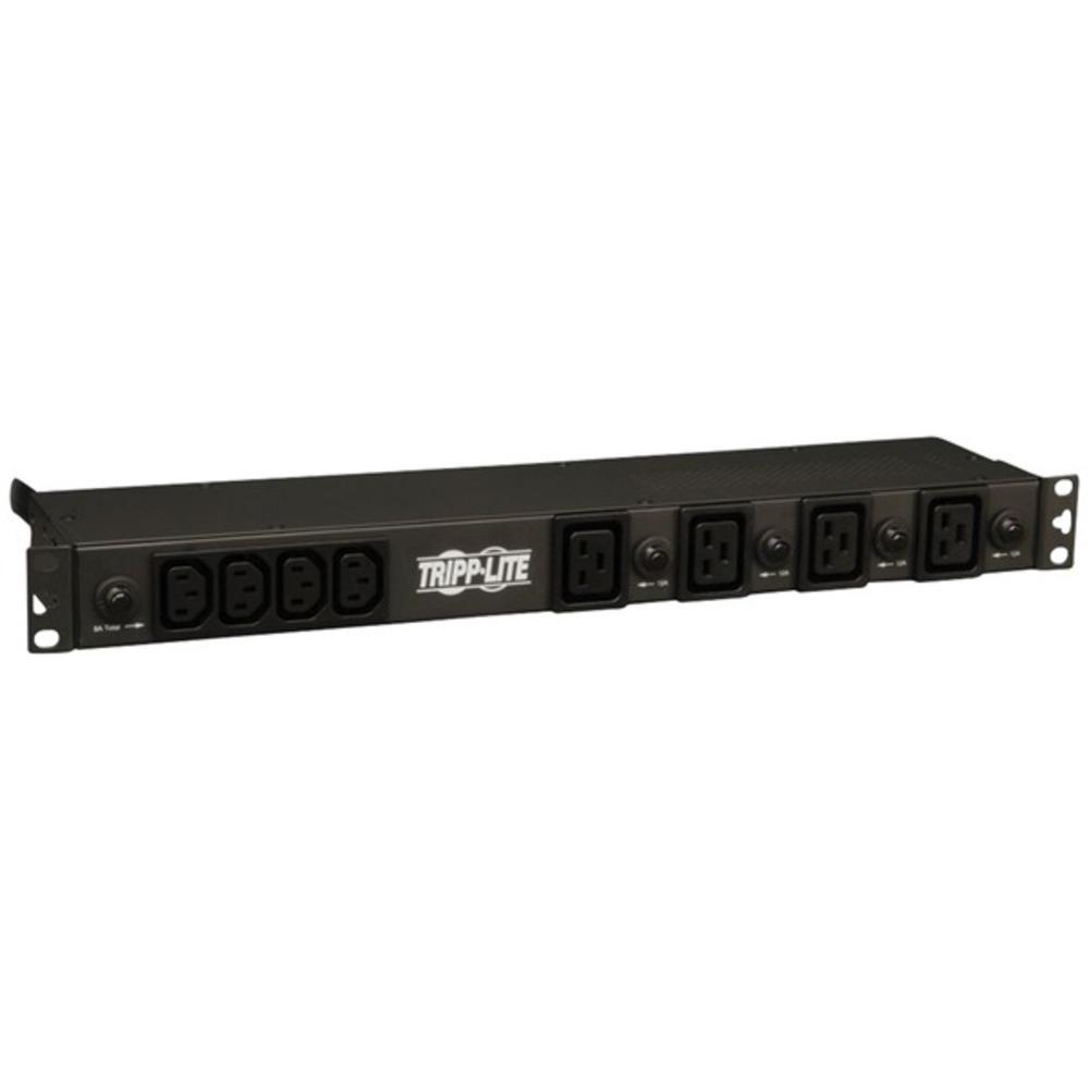 Tripp Lite PDU1230 4.8/5.8 kiloWatt Single-Phase 200/208/240-Volt 1U Basic PDU w
