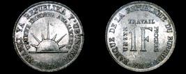 1970 Burundi 1 Franc World Coin - $24.99
