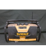 DeWalt DW911 Work/Job Site Radio Yellow Black TESTED! NO BATTERY!! - $49.95