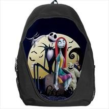 backpack bookbag the nightmare before christmas xmas jack skellington sa... - $41.00